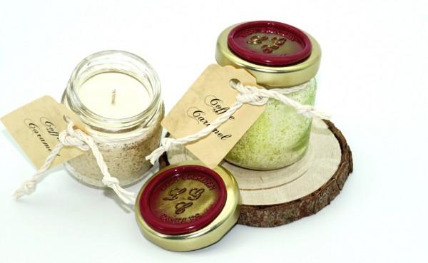 Coffee Caramel Tealight Jar