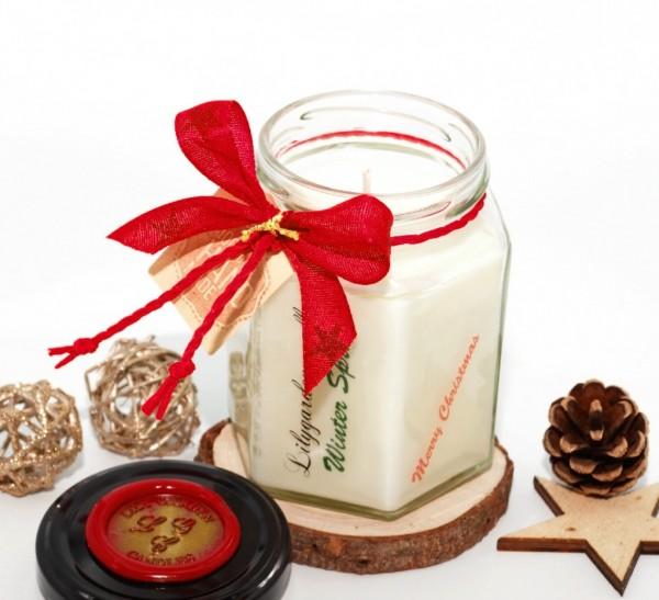 Winter Spruce Country House Jar medium