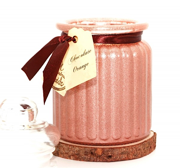Chocolate Orange Antique Jar