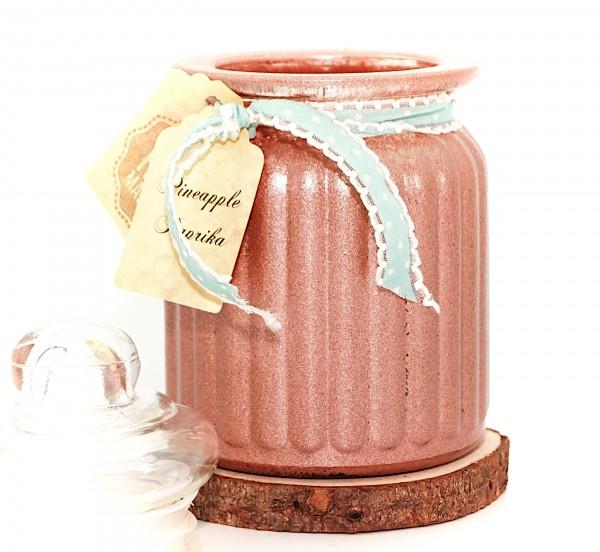 Pineapple Paprika Antique Jar