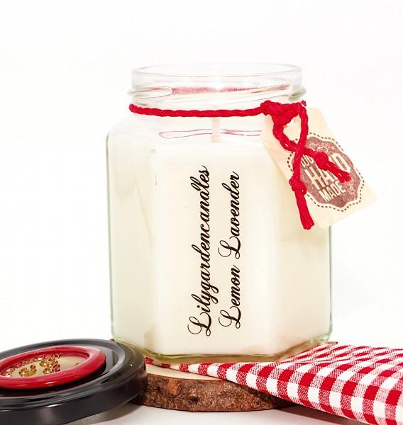 Lemon Levender Country House Jar medium