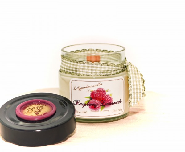 Raspberry Lemonade Lily Round Jar small