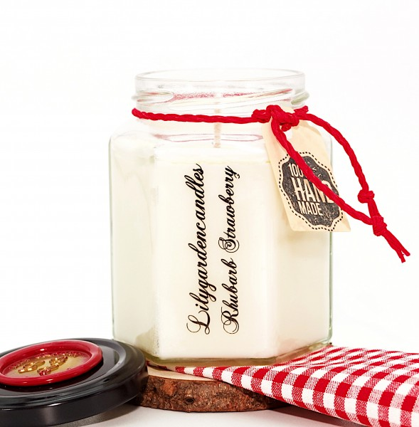 Rhubarb Strawberry Country House Jar medium