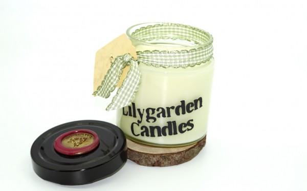 Caramel Lily Round Jar large