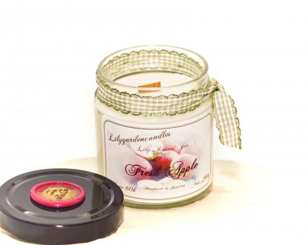Fresh Apple Lily Round Jar medium