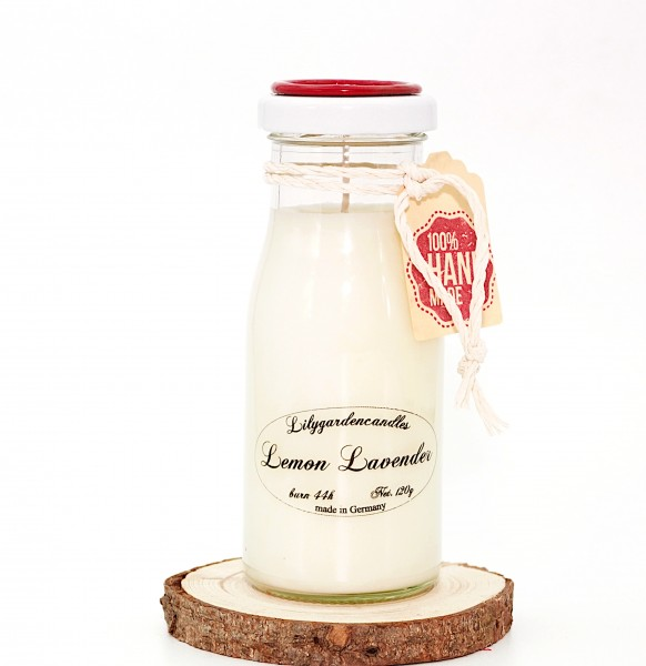 Lemon Lavender Milk Bottle small