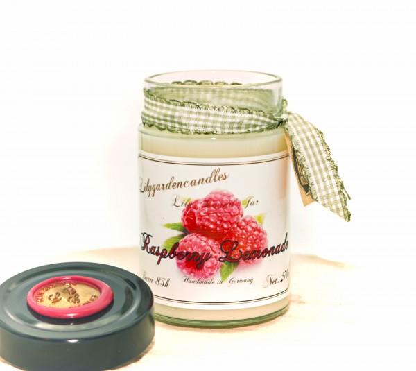Raspberry Lemonade Lily Round Jar large