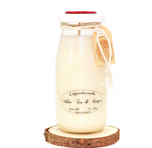 White Tea & Ginger Milk Bottle large