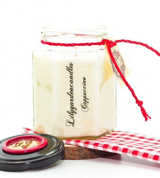Cappuccino Country House Jar medium