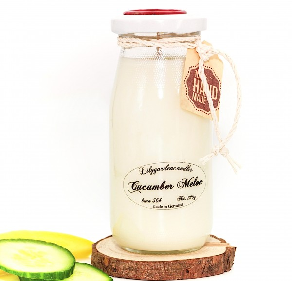Cucumber Melon Milk Bottle large