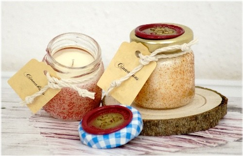 Cinnabuns Tealight Jar