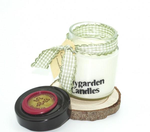 Lemon Lavender Lily Round Jar mini