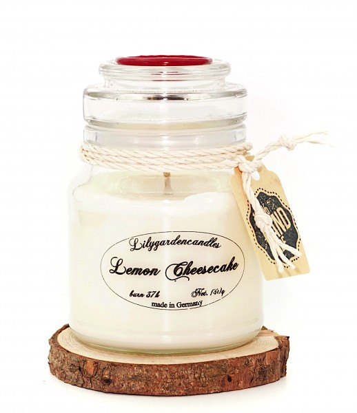 Lemon Cheesecake Stopper Jar