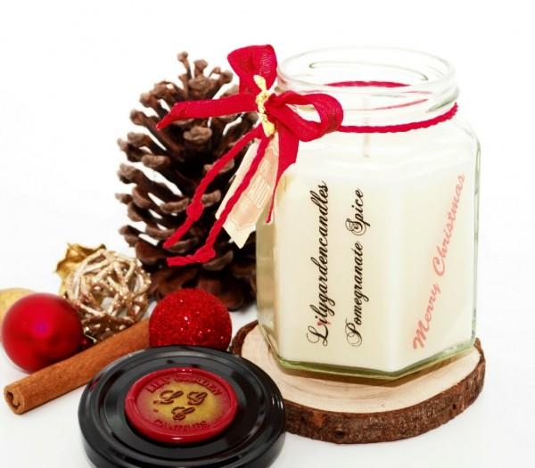 Pomegranate Spice Country House Jar medium