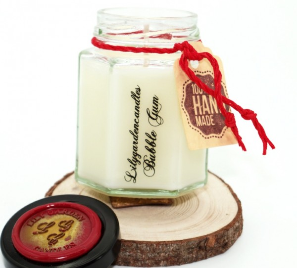 Bubble Gum Country House Jar small