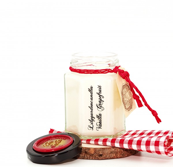 Vanilla Grapefruit Country House Jar small