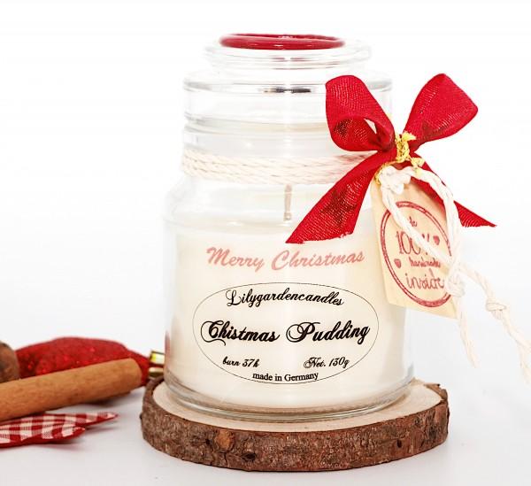 Christmas Pudding Stopper Jar