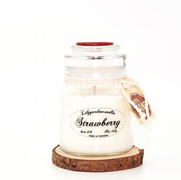Strawberry Stopper Jar