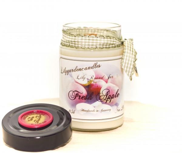 Fresh Apple Lily Round Jar large