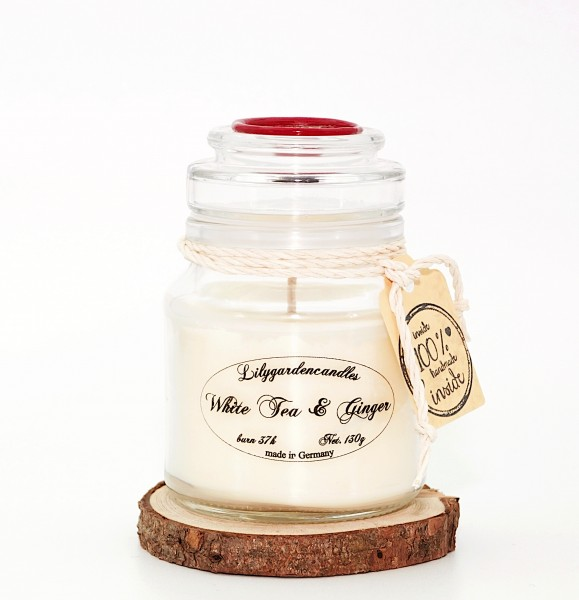White Tea & Ginger Stopper Jar