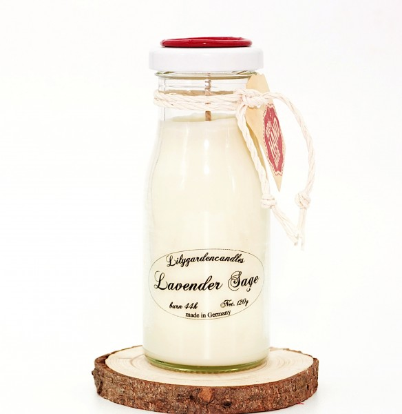 Lavender Sage Milk Bottle small