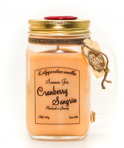 Cranberry Sangria Summer Jar