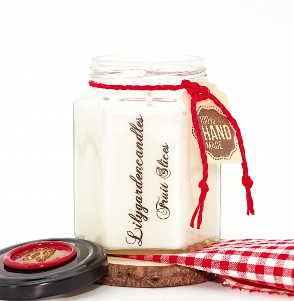 Fruit Slices Country House Jar medium