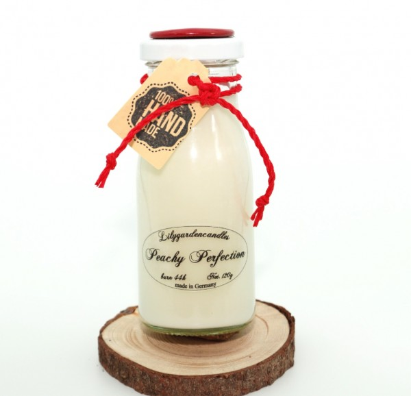 Peachy Perfection Milk Bottle small
