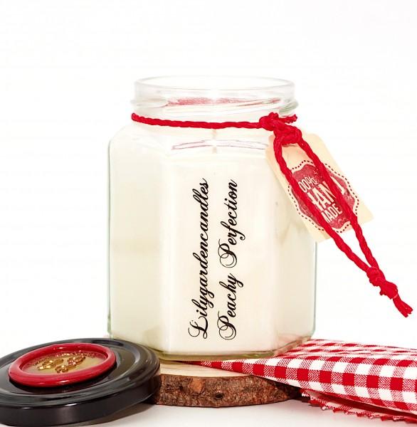 Peachy Perfection Country House Jar medium