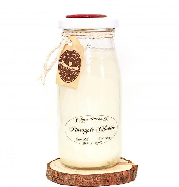 Pineapple Cilantro Milk Bottle large