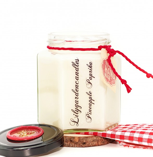 Pineapple Paprika Country House Jar large