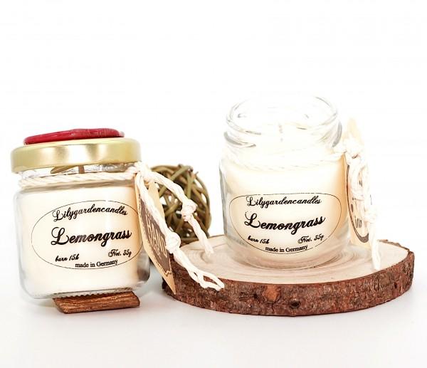 Lemongrass Tealight Jar