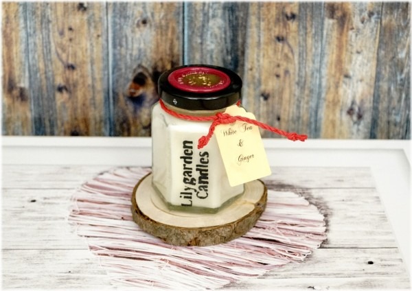 White Tea & Ginger Country House Jar small