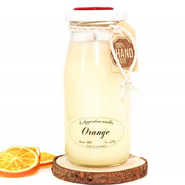 Orange Milk Bottle large