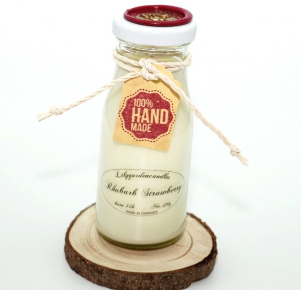 Rhubarb Strawberry Milk Bottle small