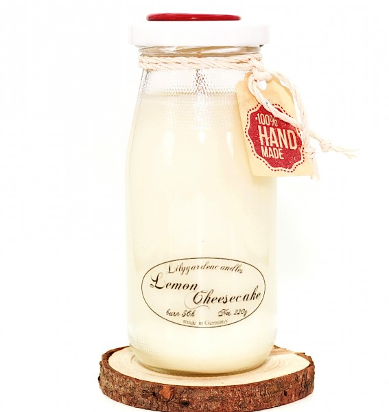 Lemon Cheesecake Milk Bottle large