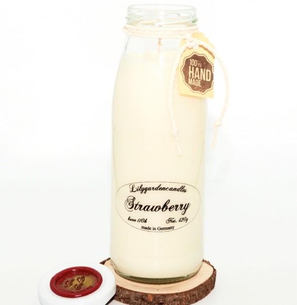 Strawberry Milk Bottle large XL
