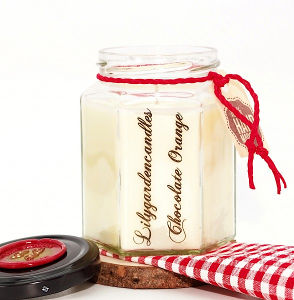 Chocolate Orange Country House Jar medium