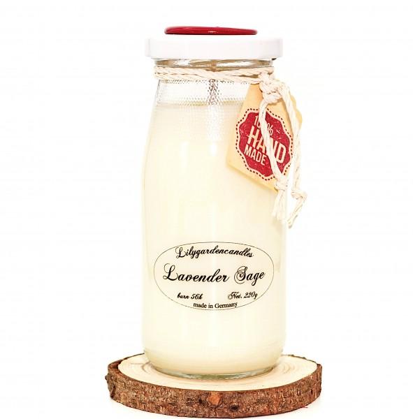 Lavender Sage Milk Bottle large