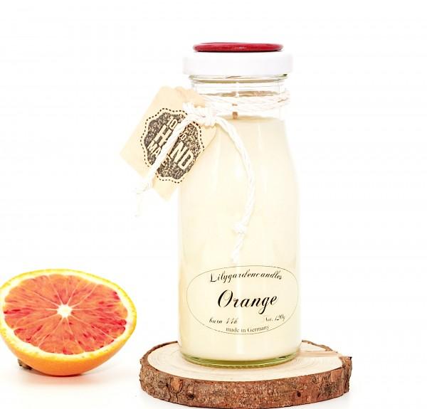 Orange Milk Bottle small