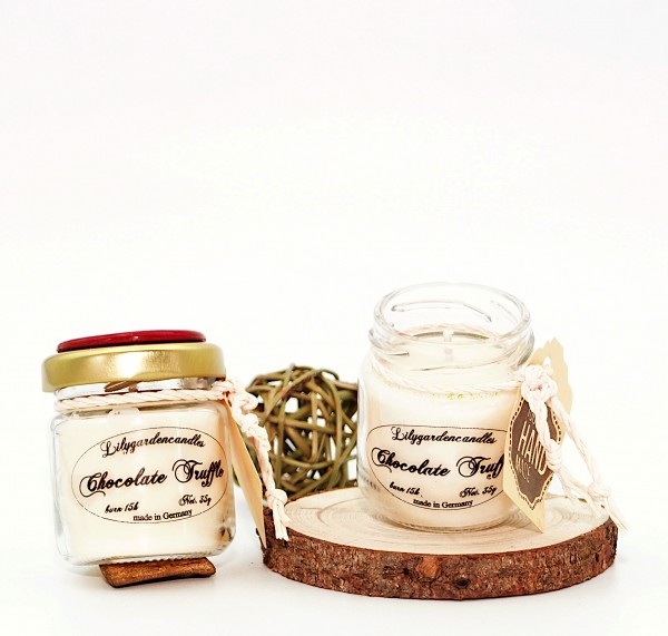 Chocolate Truffle Tealight Jar
