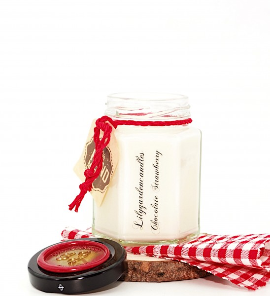 Chocolate Strawberry Country House Jar small