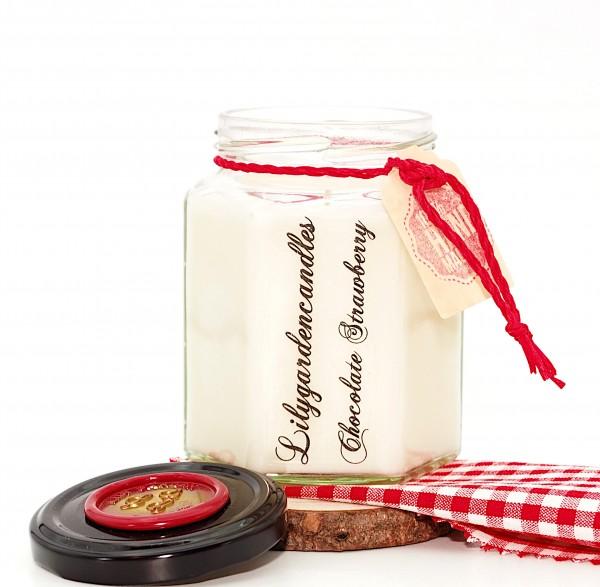 Chocolate Strawberry Country House Jar medium