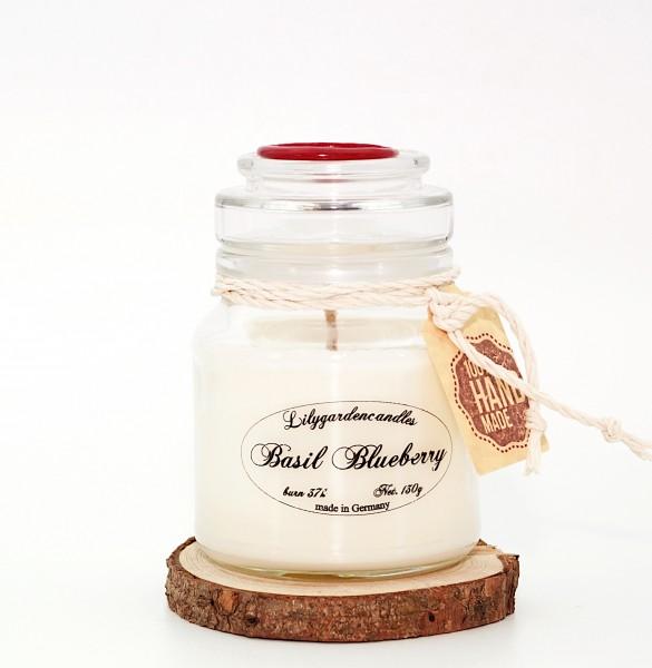 Basil Blueberry Stopper Jar