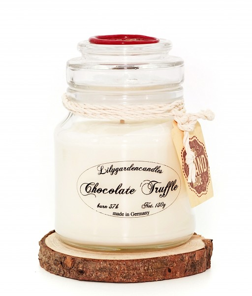 Chocolate Truffle Stopper Jar