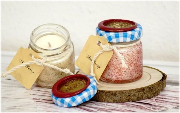Mulberry Tealight Jar
