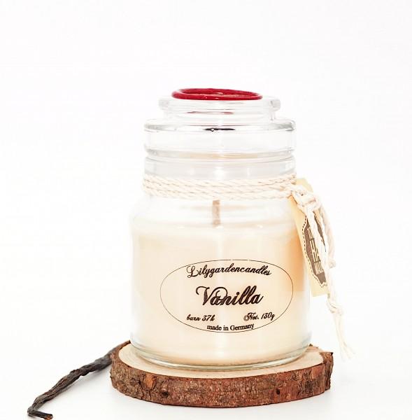 Vanilla Stopper Jar