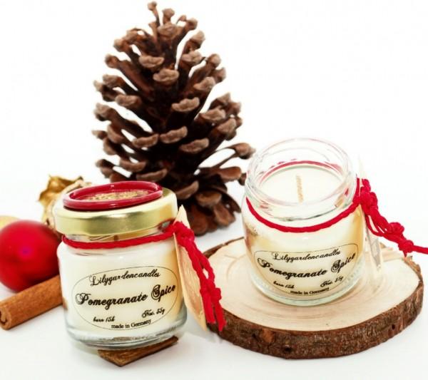 Pomegranate Spice Tealight Jar