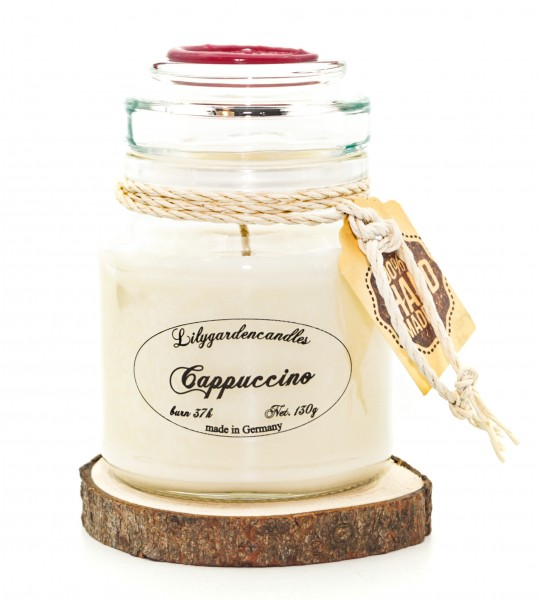 Cappuccino Stopper Jar