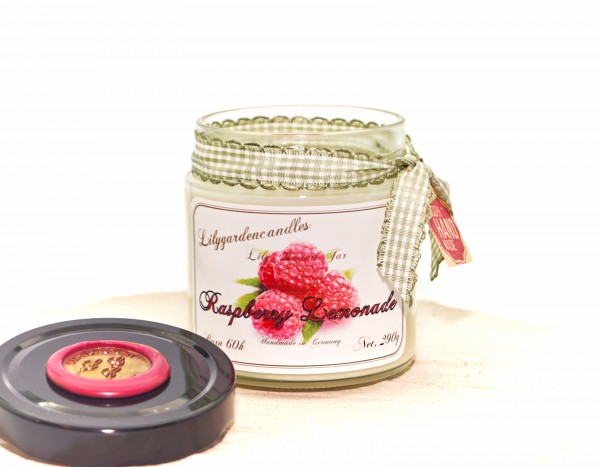 Raspberry Lemonade Lily Round Jar medium